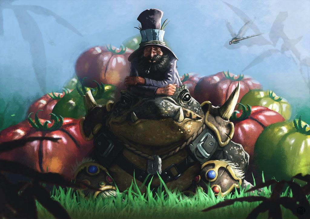 Concept Art - Scenario - Still Life with Toad