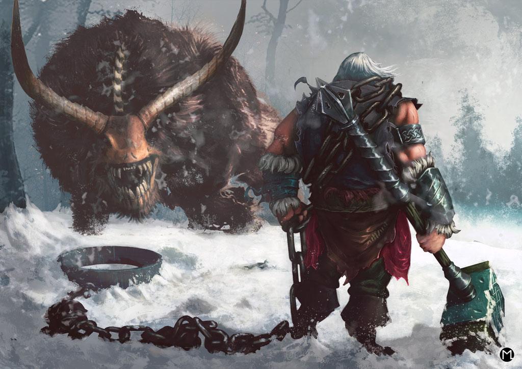 Artwork - Illustration - Facing the Beast