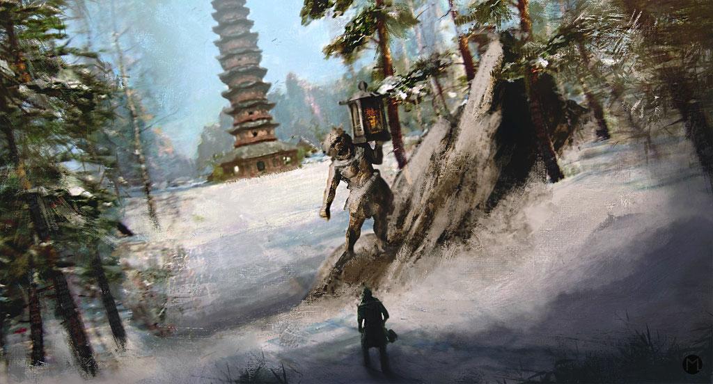 Artwork - Illustration - The Quest