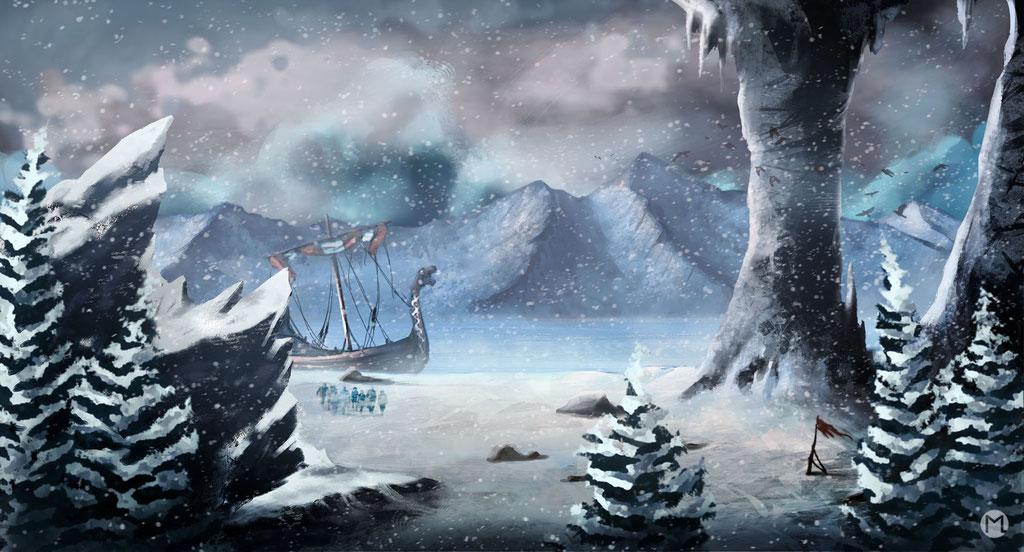 Concept Art - Illustration - Iceland