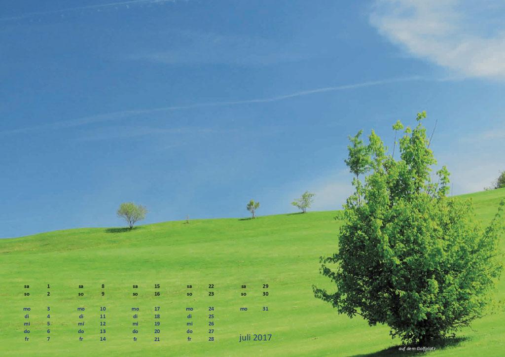 Kalenderformat A3 - Scheidegg