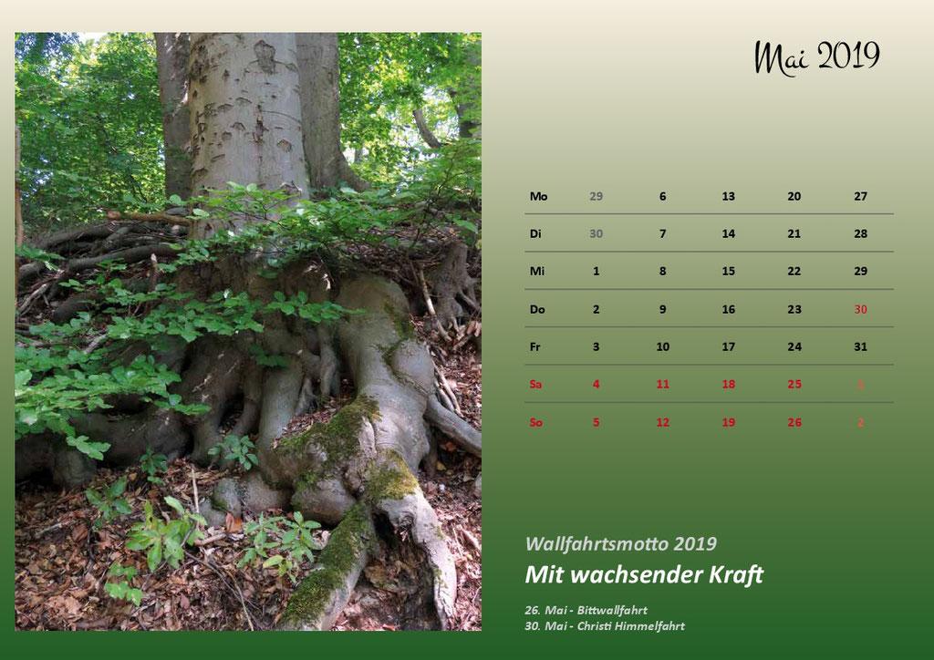 Kalenderformat A4 - Hülfensberg