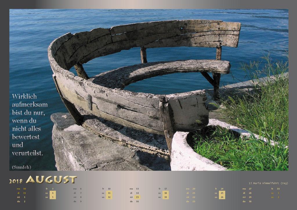 Kalenderformat A3 - Lago d'Osta