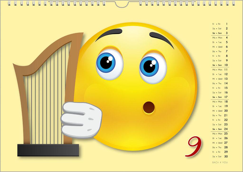 Der Emoji-Kalender: Musikkalender, Orgelkalender, Komponisten-Kalender, Musik-Kalender für Kinder … 99 Geschenke für Musiker.Der Emoji-Kalender: Musikkalender, Orgelkalender, Komponisten-Kalender, Musik-Kalender für Kinder … 99 Geschenke für Musiker.