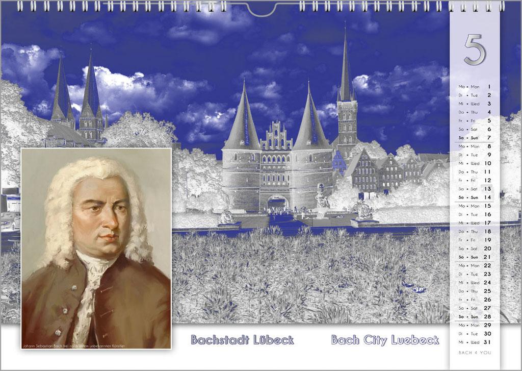 Der Bachstädte + Bachorte Kalender ... Bach-Kalender sind Musikkalender und Musik-Geschenke.