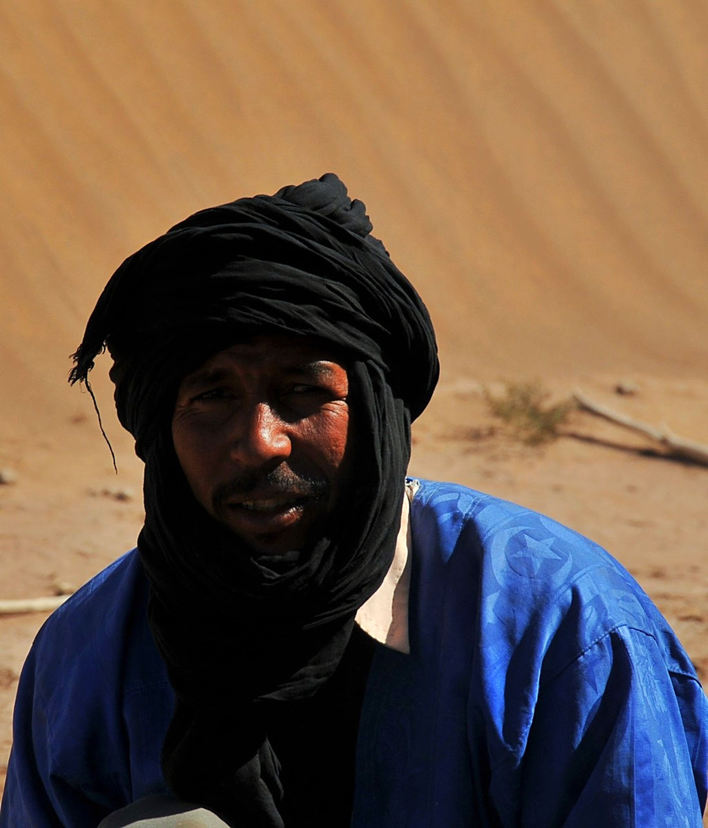 Photo d'un nomade, Hassan