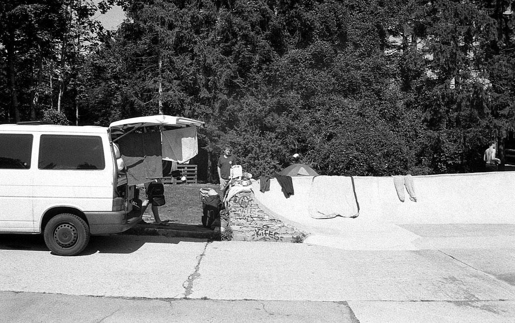 Camping Postojna DIY Slovenien
