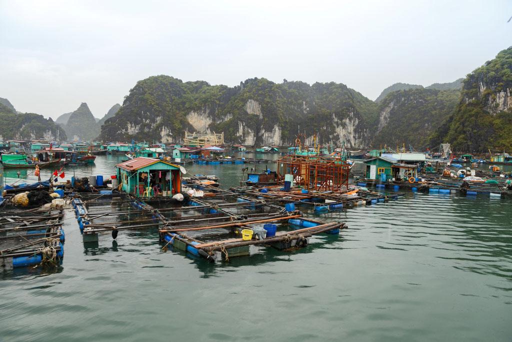 Fischerdörfer auf dem Wasser