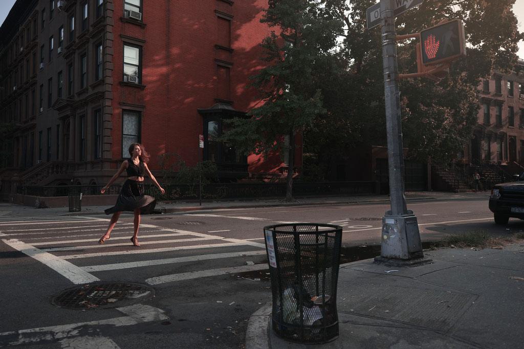 Danseuse à Brooklyn