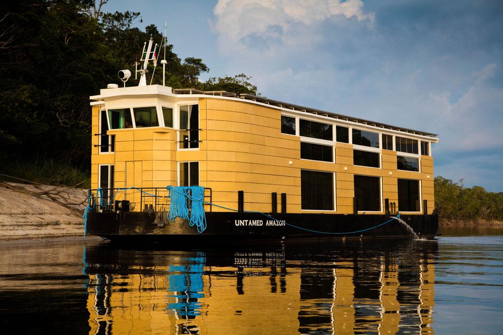 FFTC.club - Untamed Angling Brazil - Marie Rio de Gigantes - Untamed Amazon Vessel - near