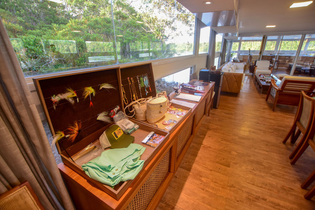 FFTC.club - Untamed Angling Brazil - Marie Rio de Gigantes - Untamed Amazon Vessel - lounge deck - view