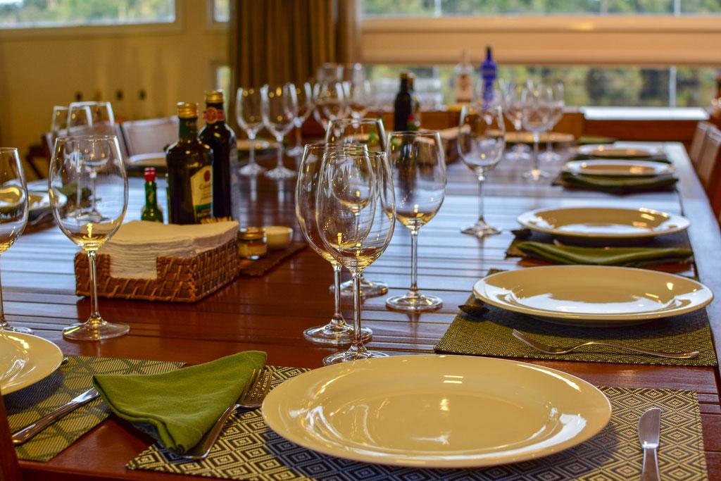 FFTC.club - Untamed Angling Brazil - Marie Rio de Gigantes - Untamed Amazon Vessel - Dining table