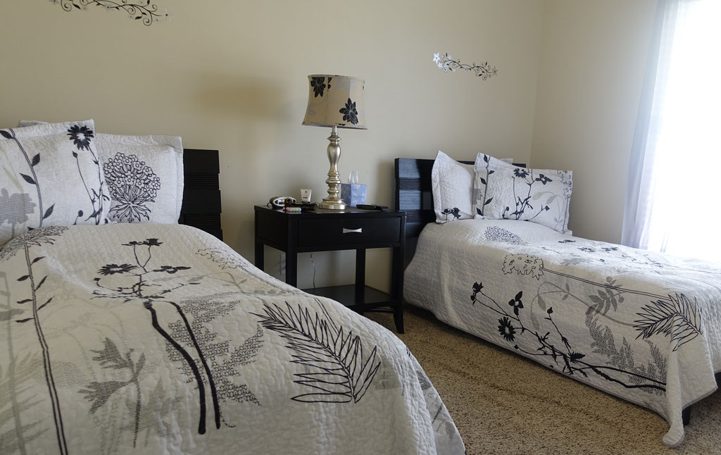 Schlafzimmer CARLSON - 2 Twinsize-Betten