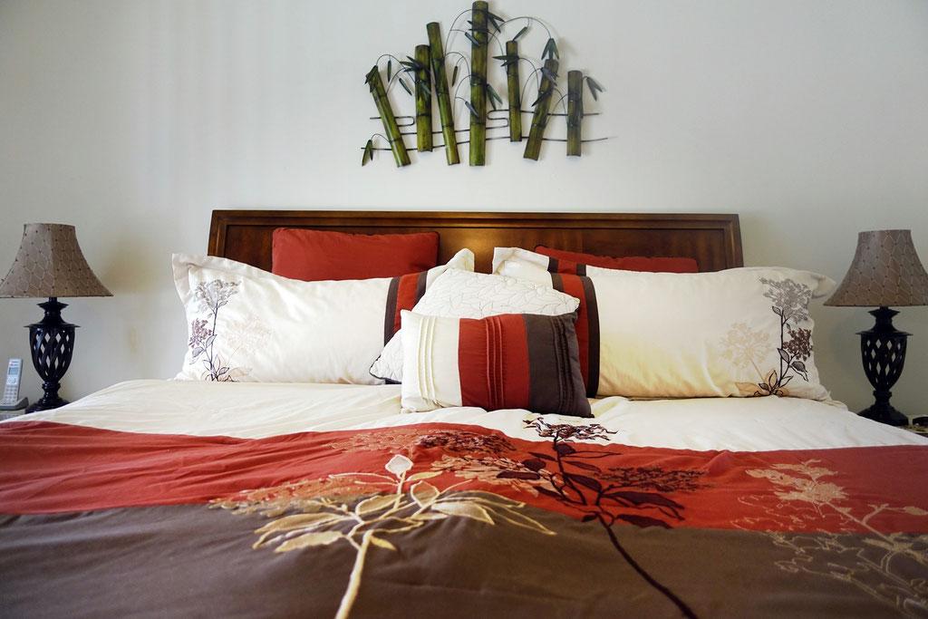 Schlafzimmer CHARLOTTE Queensize-Bett