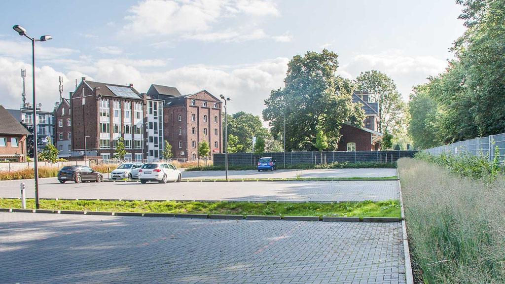 Stellplätze - Wohnmobilstellplatz Niederrhein in Neukirchen-Vluyn