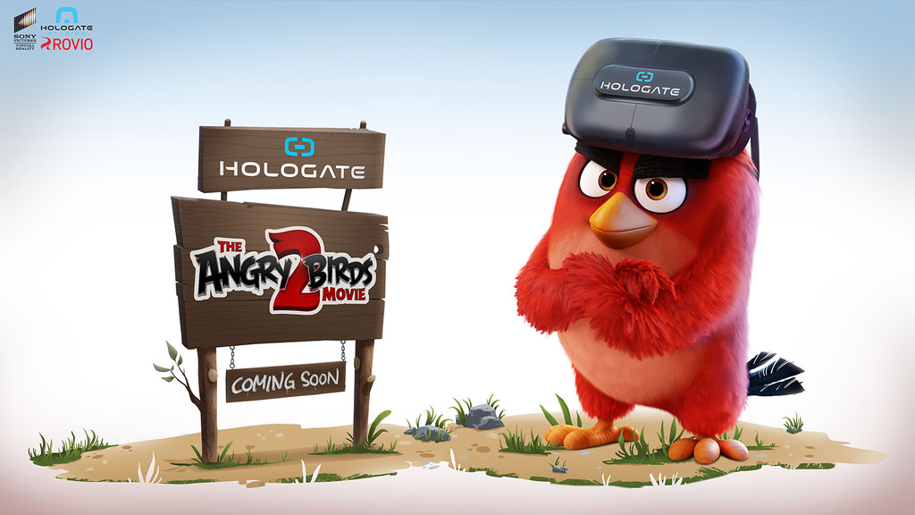 Hologate - Angry Birds VR - Promotion Picture - Peter Bartels