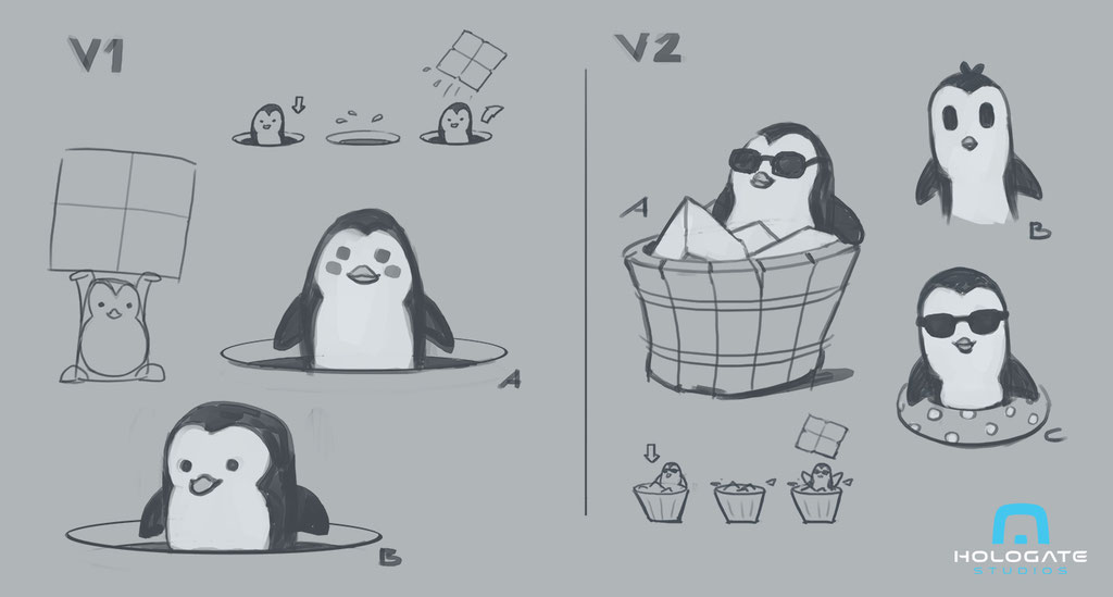 Hologate_ColdClash_Penguin_Peter_Bartels