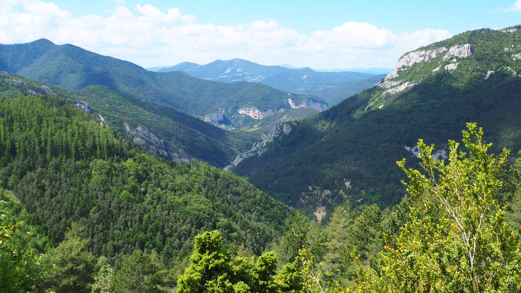 Galeries photo ; Trek dans le Sud du Vercors. Voyage Max de Nature