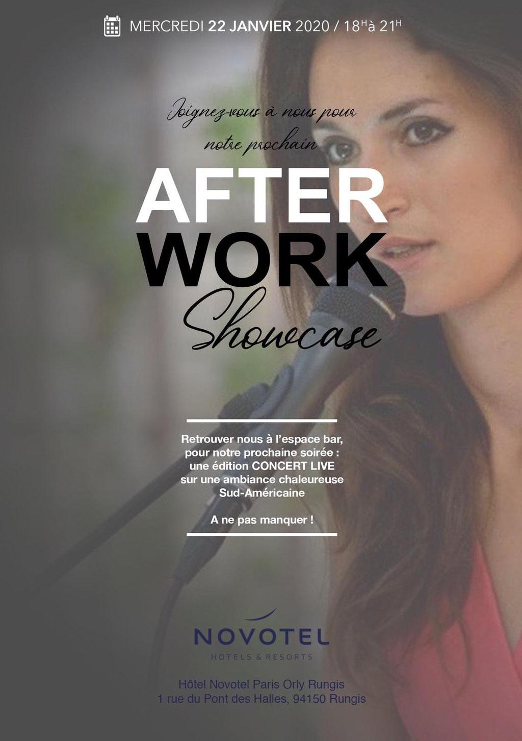 Lara Phanalasy - Afterwork Amérique du Sud