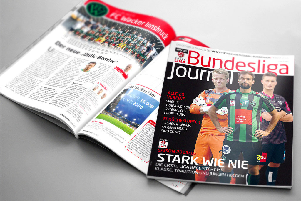 Bundesliga Journal – Herbstausgabe 2015 – Erste Liga