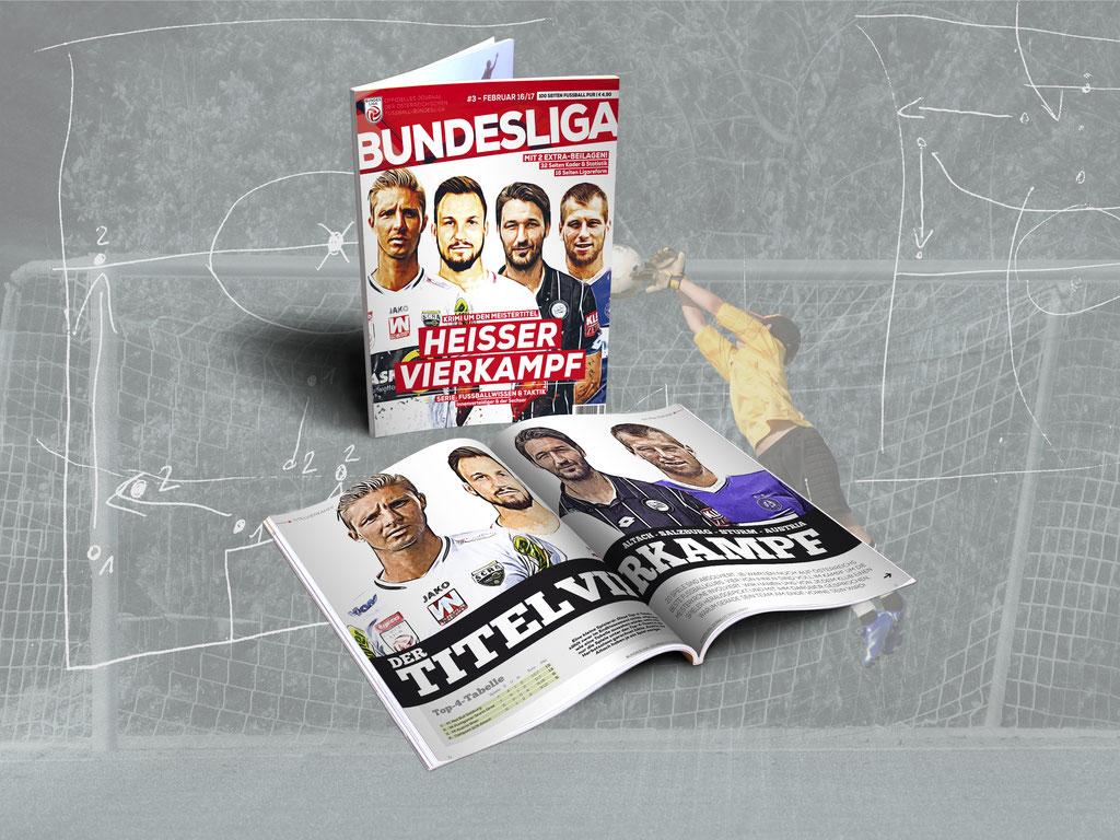 Bundesliga Journal – Ausgabe Februar 2017 / Kaufcover
