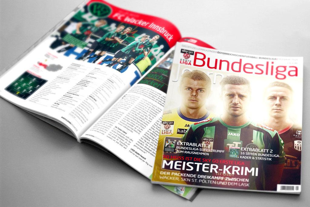 Bundesliga Journal – Frühjahrsausgabe 2016 – Erste Liga Titel