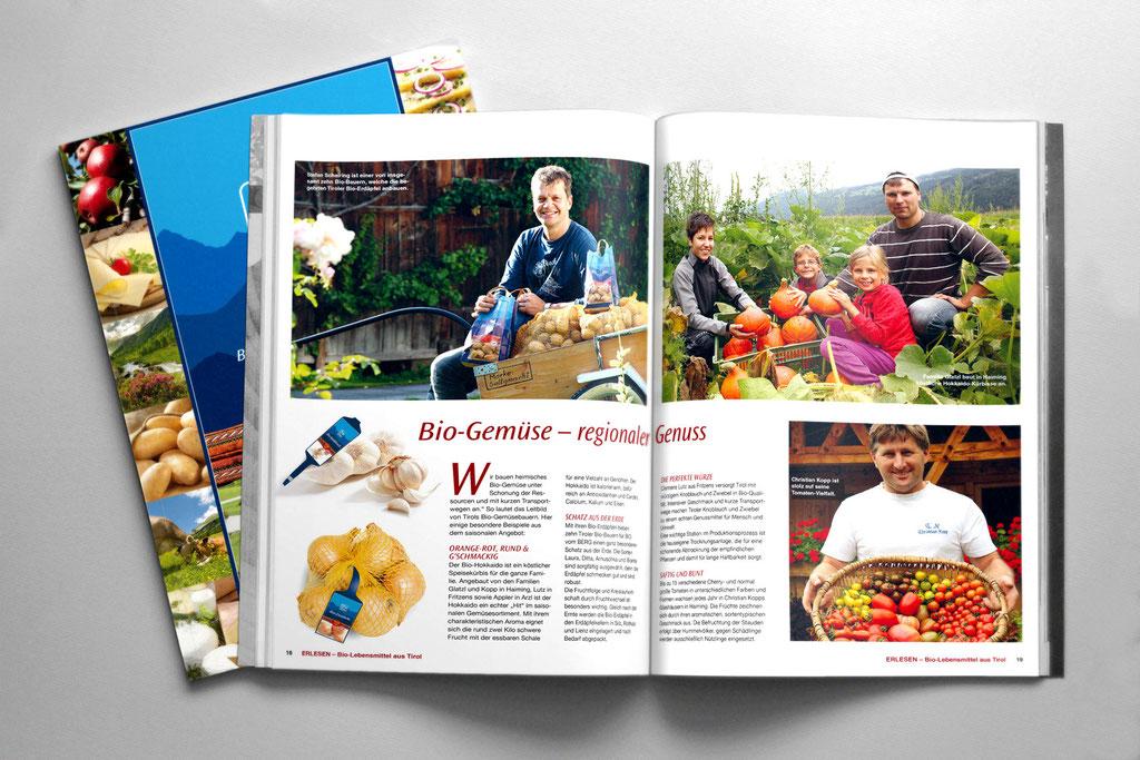 ERLESEN – Bio-Lebensmittel aus Tirol – AMA Tirol