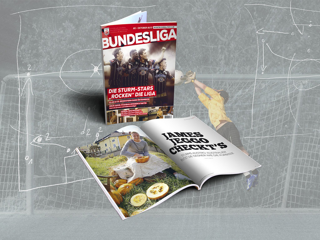 Bundeslig Journal – Relaunch 2016/17 – Erscheinung 4 x pro Saison
