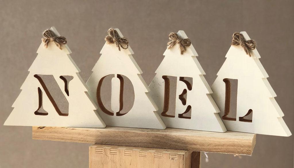Déco Noël bois Zen Beaucoup