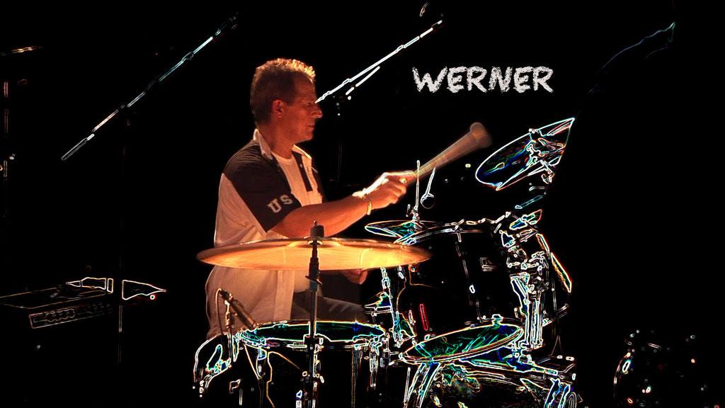 Werner Mensing, Drums