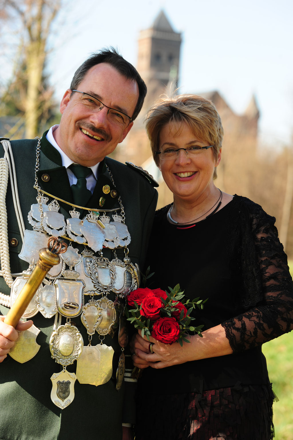 S.M. Michael Rönicke & Königin Christiana 2014/2015