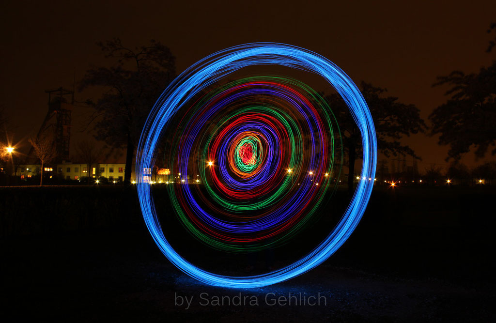 Lichtmalen im OLGA-Park