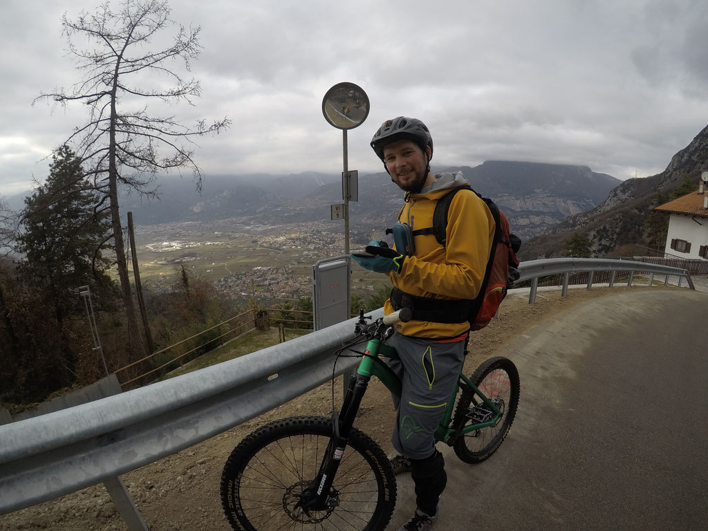 Biken am Monte Velo