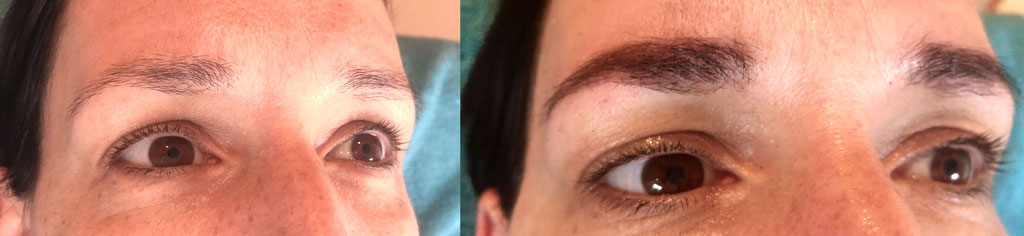Henna Brow zu einer Kur/-Haarwachstumsanregung