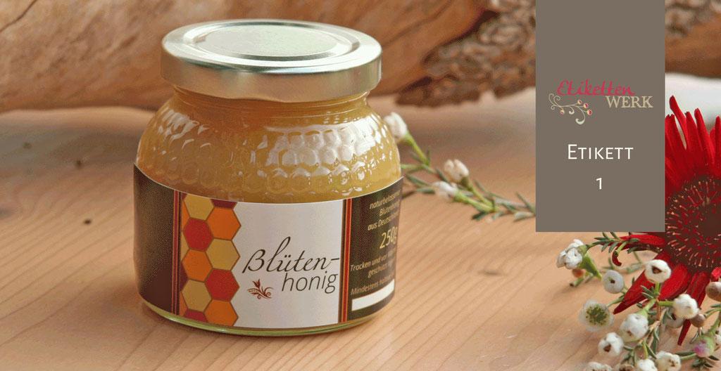 Honigetiketten - so individuell wie Ihr Honig