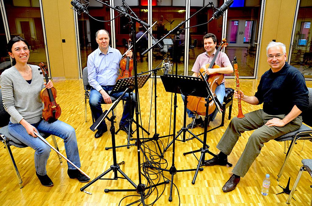 Stephan Siegenthaler mit Lucerne String Trio