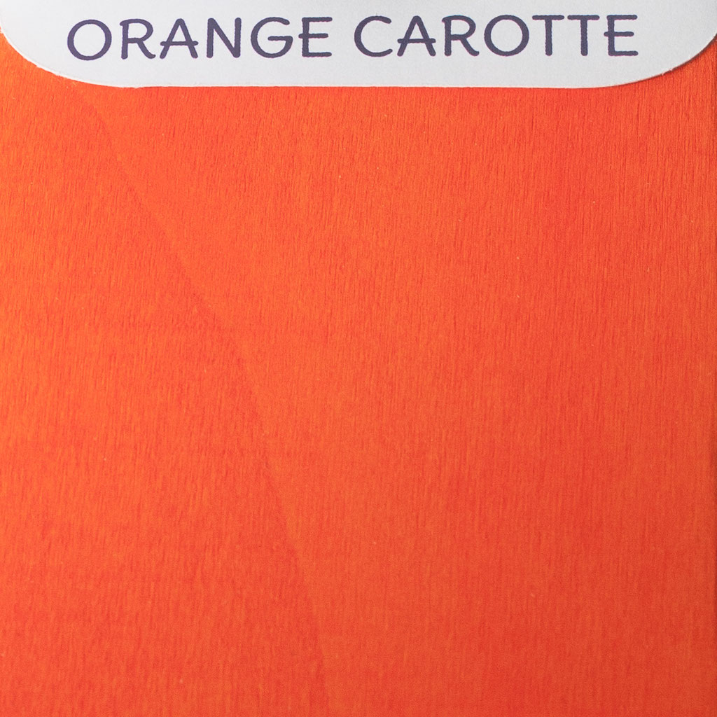 Orange carotte - Nuancier Le Chaton et sa Poulette