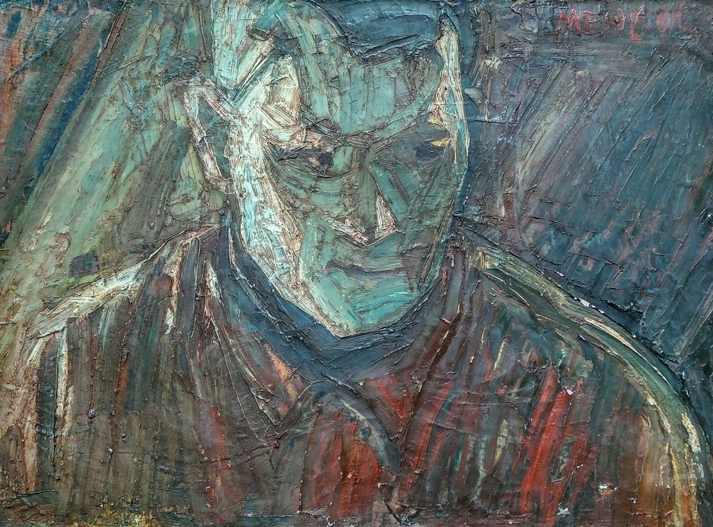 Meheuc, huile sur toile, 51x67 , 1979