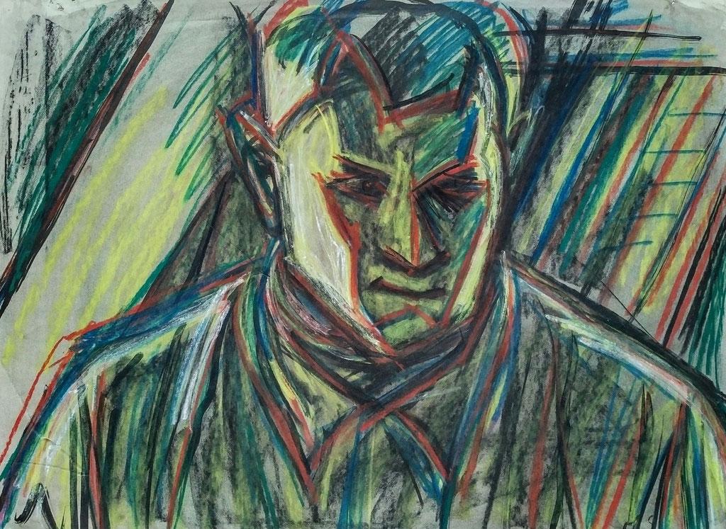 Meheuc, pastel, 51x67, 1979
