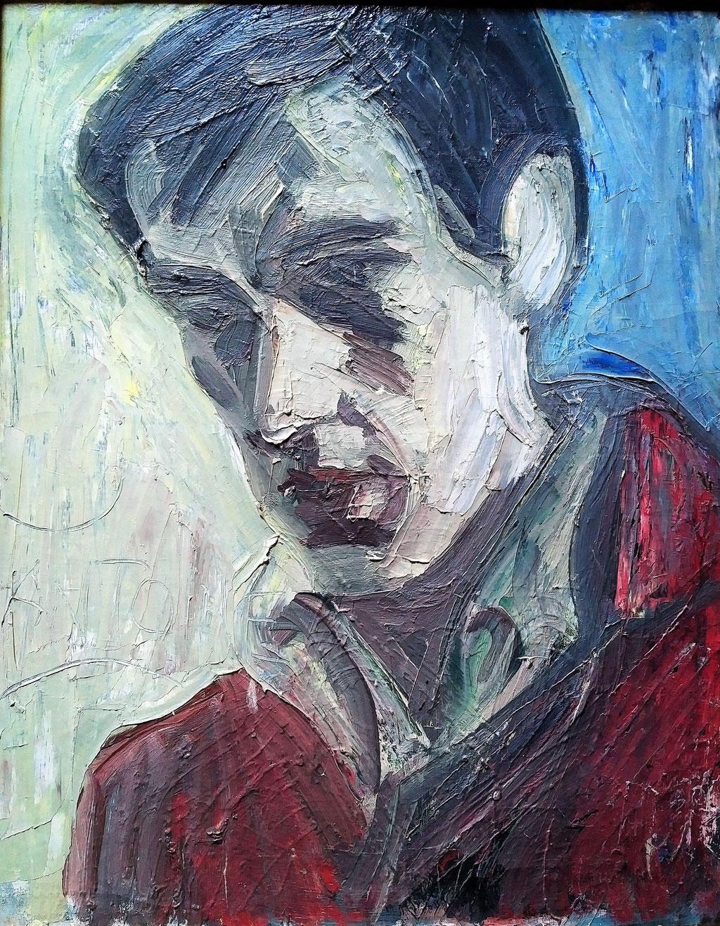 Antoine, huile sur toile, 1979, collection d'atelier