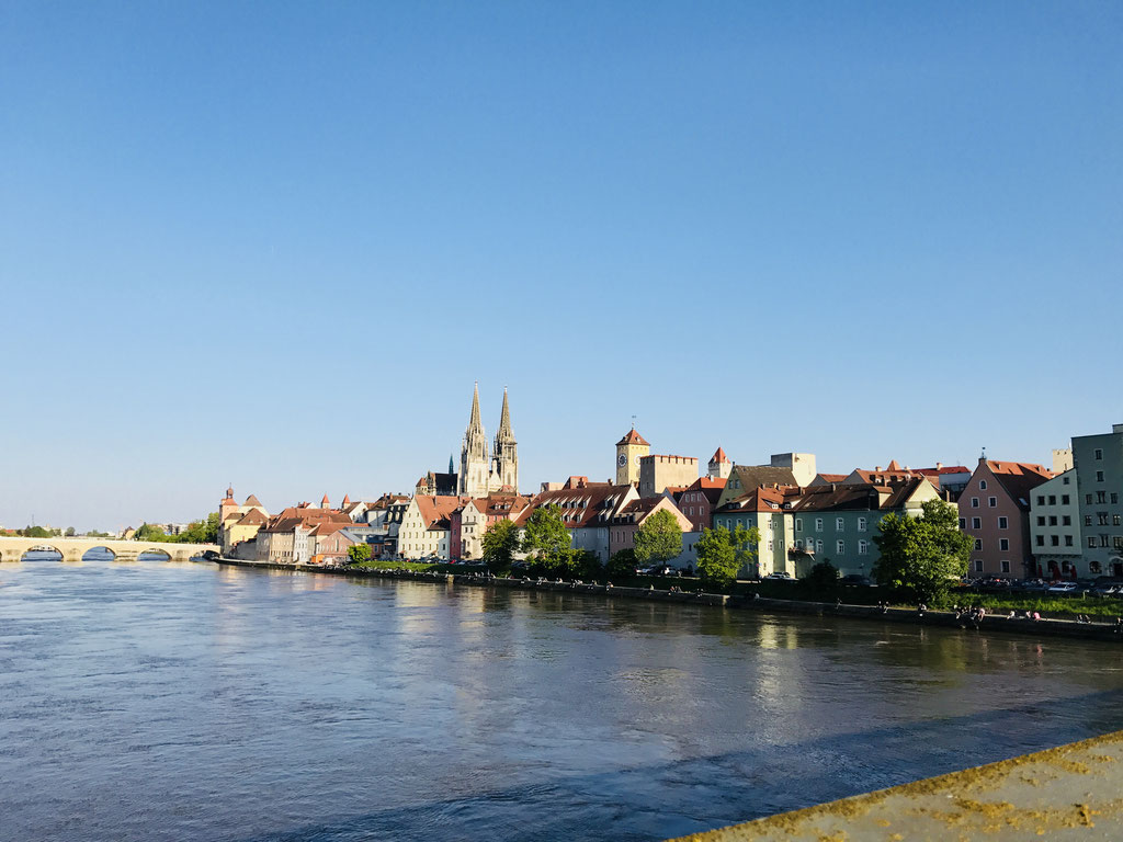 Regensburg vom Eisernen Steg ©Jonas Nonnenmacher