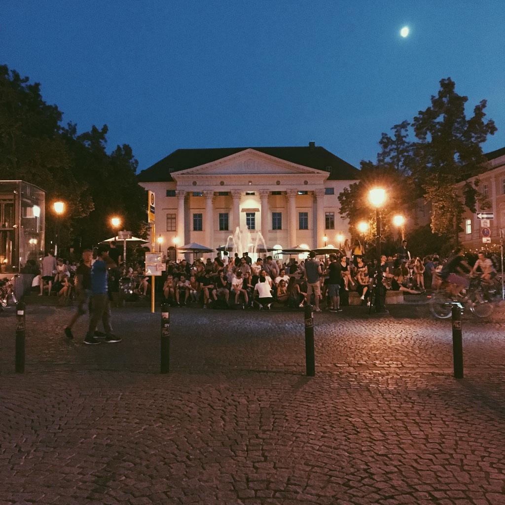 Bismarckplatz im Sommer ©Sophie Fischer