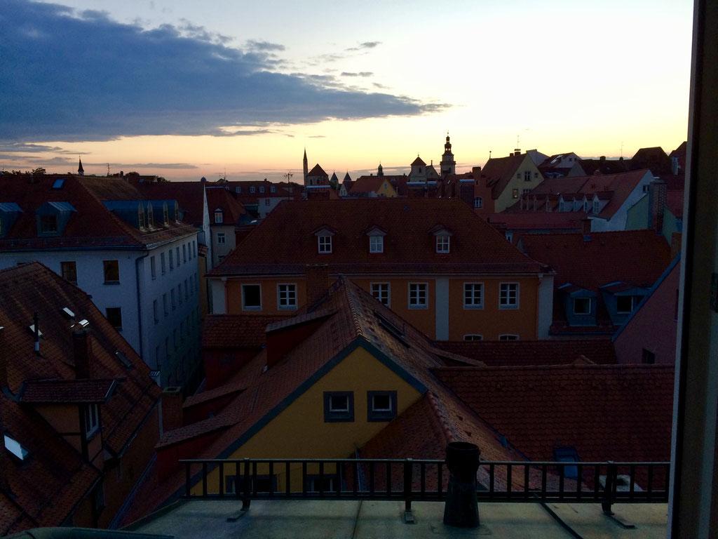 Regensburg von oben ©Jonas Nonnenmacher
