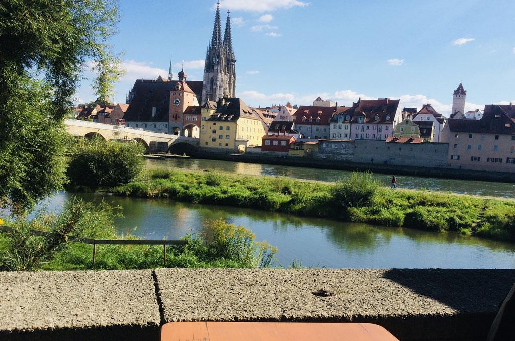 Regensburg im Sommer ©Jonas Nonnenmacher