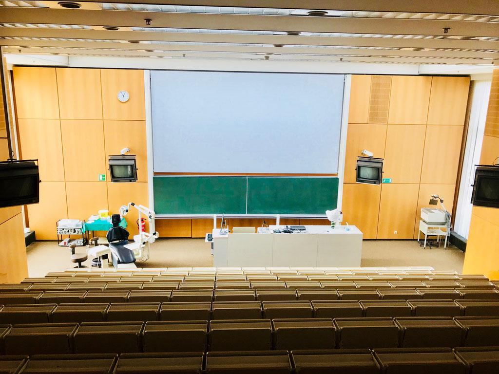 Großer Hörsaal ZMK ©Jonas Nonnenmacher