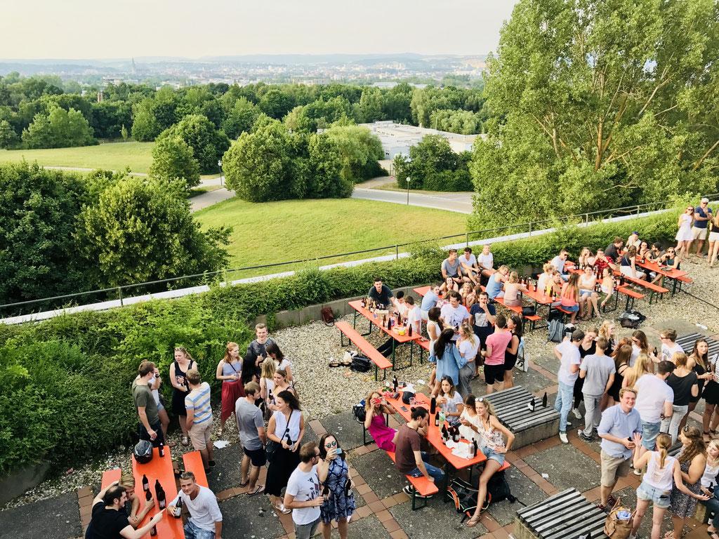 Sommerfest auf der Klinik Dachterrasse '17 ©Jonas Nonnenmacher