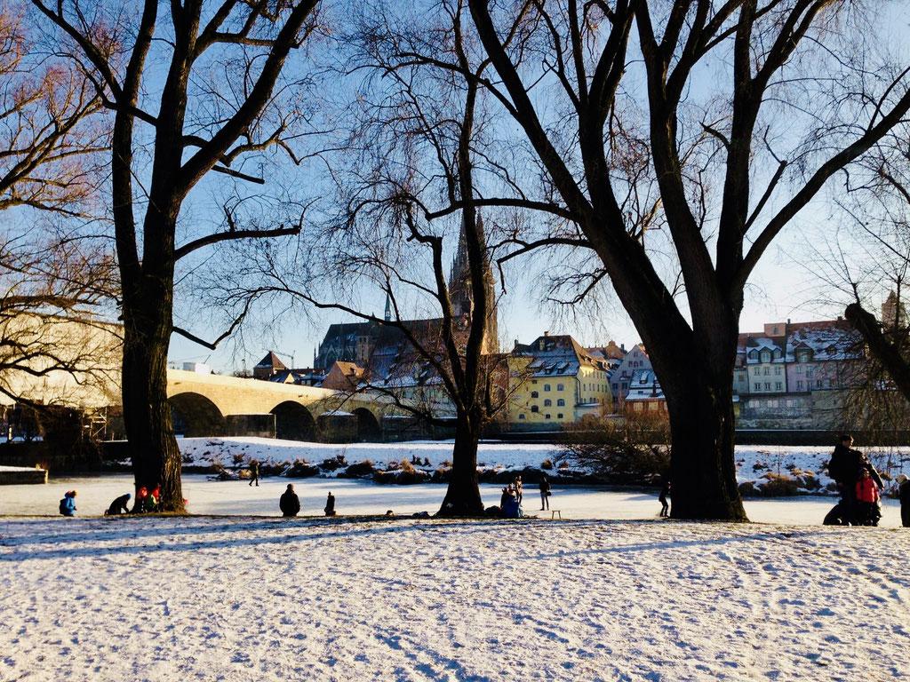 Regensburg im Winter ©Jonas Nonnenmacher