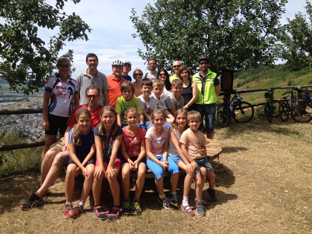 Fahrradtour nach Mehring (Finnenbahn) am 12.07.2015