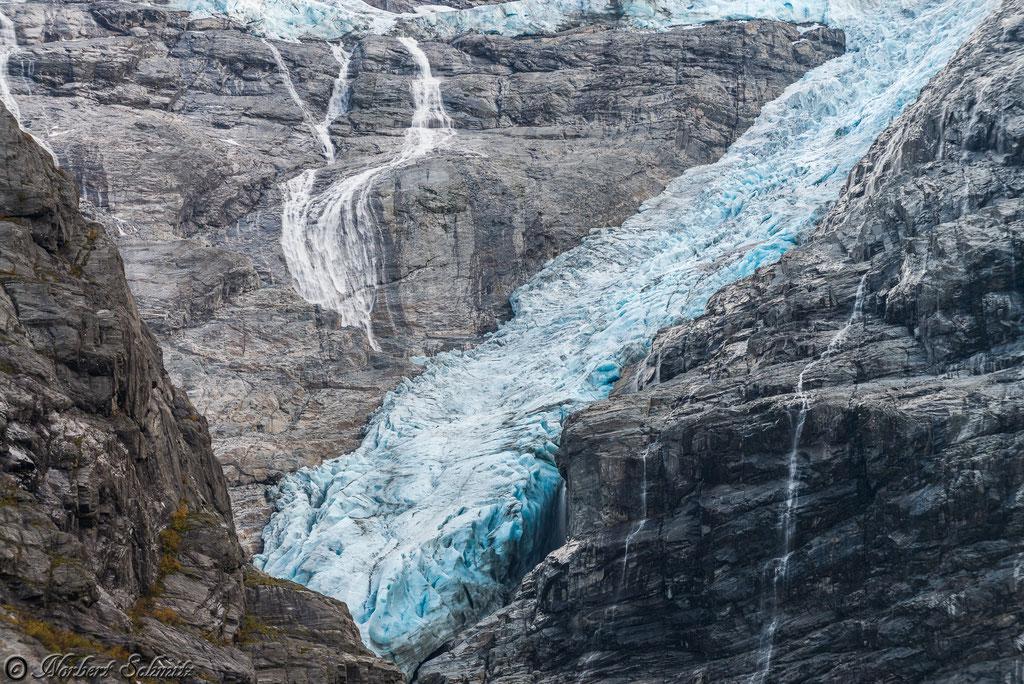 Kjenndal-Gletscher