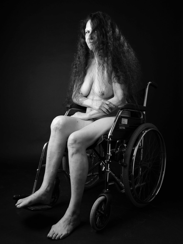 Foto: Andreas Ender, photo-art+painting   Titel: die Definition von Schönheit